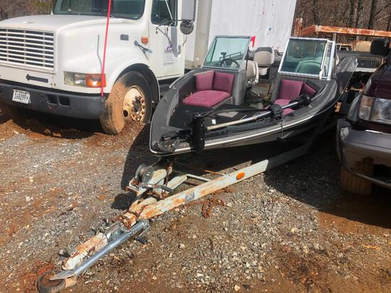 PROCRAFT 1750V BASS / SKI BOAT (NO MOTOR)