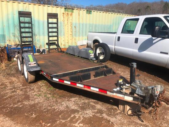 2011 1O FT EQUIPMENT TRAILER