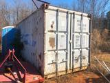20' SHIPPING / STORAGE CONTAINER