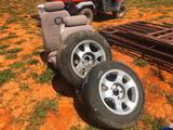 (2) BUCKET SEATS (MUSTANG) & (2) TIRES W/WHEELS