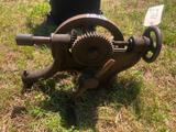 VINTAGE WALL MOUNT DRILL
