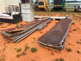(2) PALLETS-USED TIN