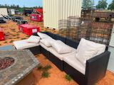 GROUP OF OUTDOOR FURNITURE