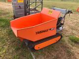 YARD MAX GAS DRIVEN POWER WHEEL BARROW W/TRACKS
