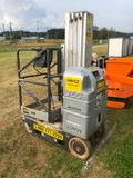 JLG 20 MVL MANLIFT-ELECTRIC W/BUILT IN CHARGER