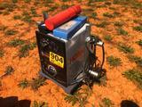 HOBART 220V ELECTRIC WELDER W/3 BOXES OF RODS
