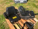 (2) USED FORKLIFT SEATS