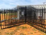 GREAT BEAR 20' BI-PARTING IRON GATES
