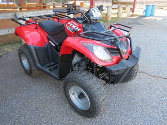 2015 KYMCO MXU 300 ATV (271CC, 4 STROKE, 3 MILES, AUTOMATIC)