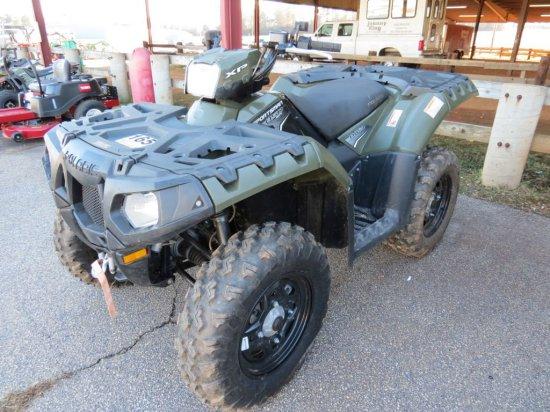 2011 POLARIS SPORTSMAN XP 850 TWIN EFI ATV (SN-4XAZN85A6BA313731, A/T, 4X4,