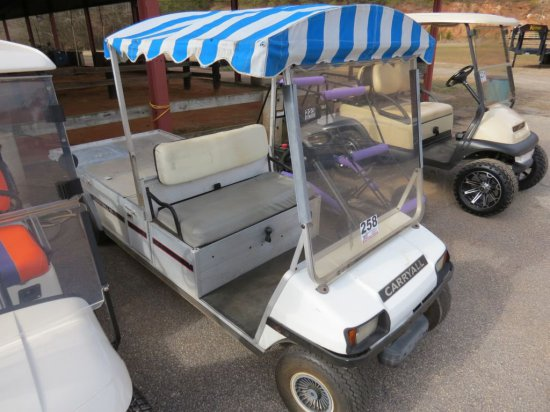 CLUB CAR CARRY-ALL GOLF CART (GAS) 6FT BED