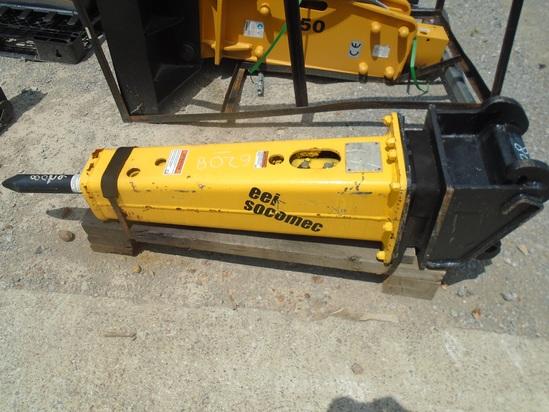 EEI Socomec 210 Hydraulic Hammer