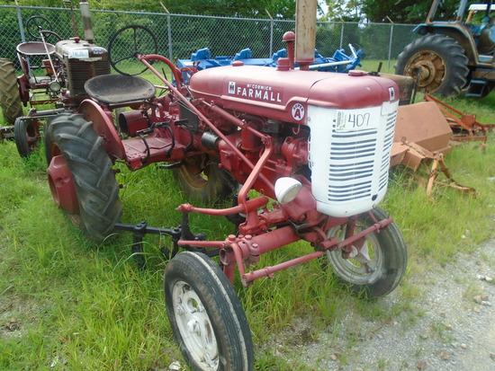 International McCormick Super A Farm Tractor