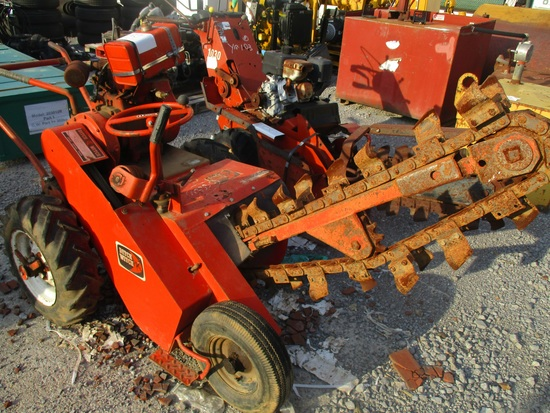 Ditch Witch M4 Walk Behind Trencher