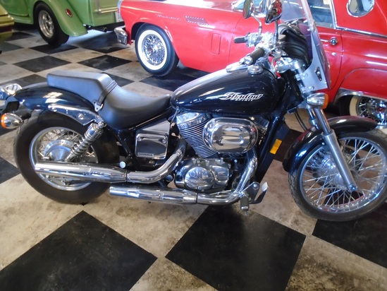 2005 Honda Shadow Spirit Motorcycle