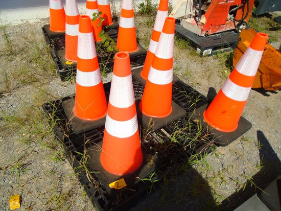 Quantity of Five Safety Cones