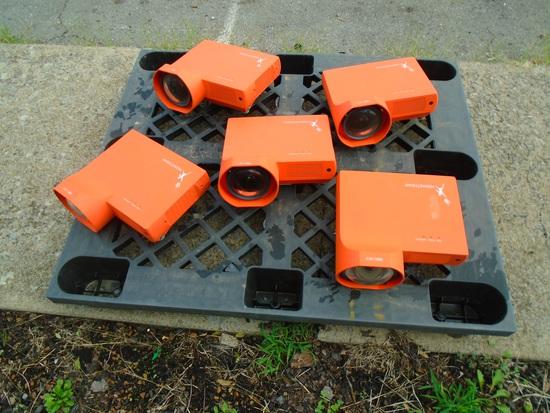 Quantity of Five Promethean Projectors