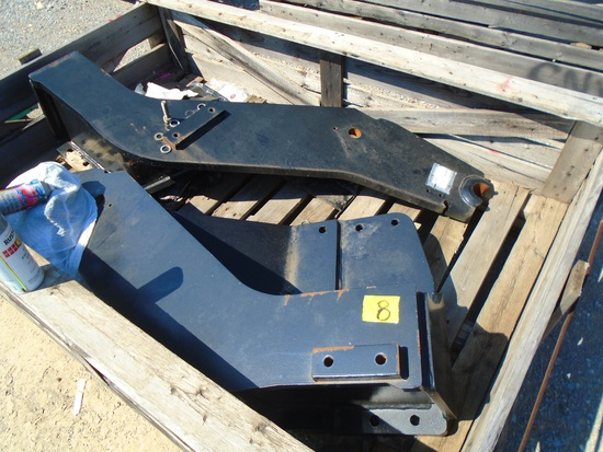 Loader Bracket for a 100+ HP Farm Tractor