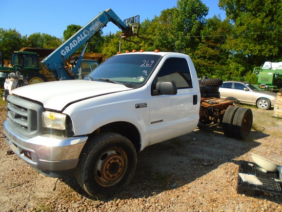 2002 Ford F550 Cab and Chassis
