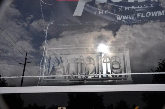 AUTOLITE NEON WINDOW SIGN