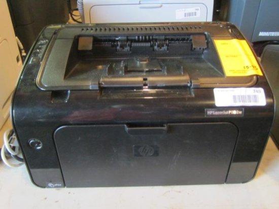 HP LASER JET P1102W WIRELESS PRINTER