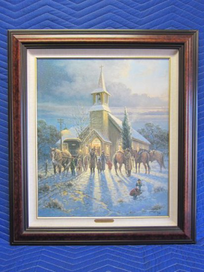''FAITHFUL EVENING'' BY JACK TERRY, SIGNED ON REVERSE ''BEST WISHES, JACK TERRY 9/95'' LIMITED