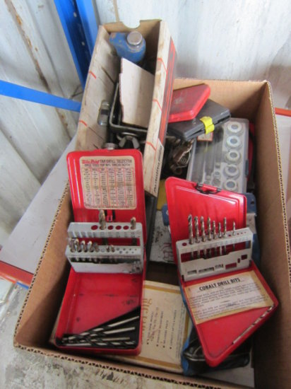 FLAT W/DRILL BIT INDEXES & ASSORTED PULLERS