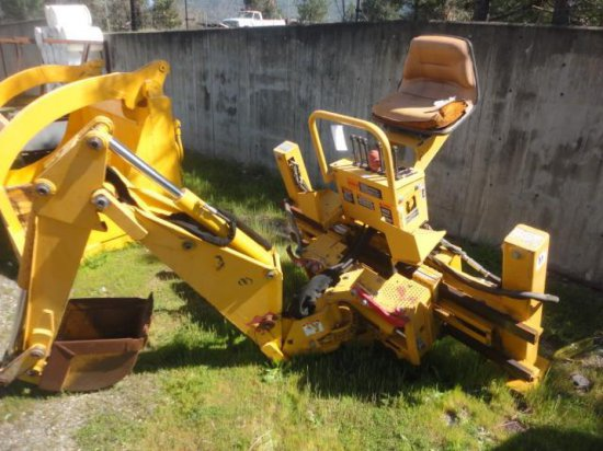 BRADCO 88MZGF 3 POINT BACKHOE ATTACHMENT