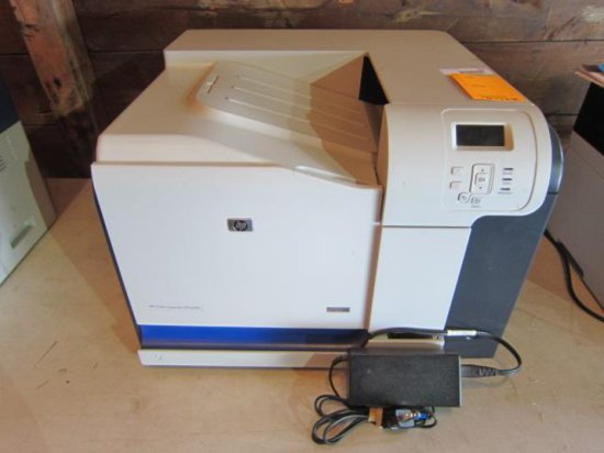HP COLOR LASERJET CP3525N PRINTER *NO POWER CORD