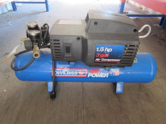 DEVILBLISS DFA153 AIR COMPRESSOR