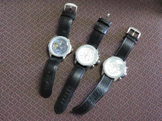 (3) BREITLING WATCHES (FAKE)