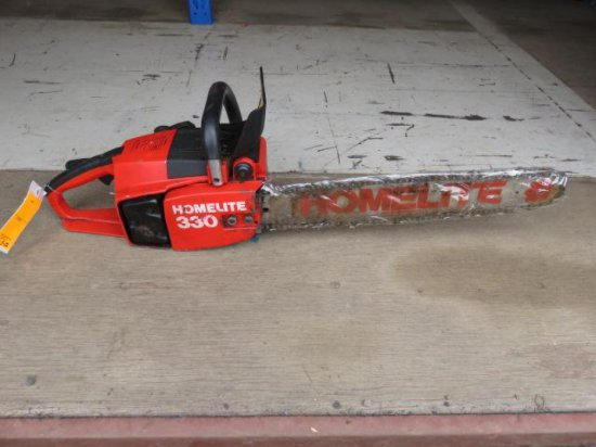 HOMELITE 330 GAS POWERED 20'' CHAINSAW