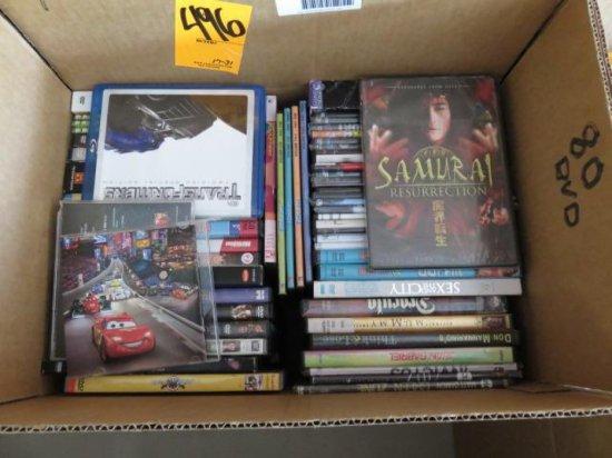 BOX W/80 DVD'S
