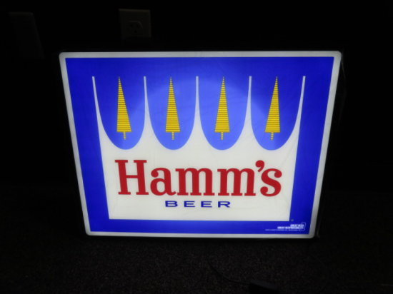 HAMM'S BEER LIGHTED SIGN