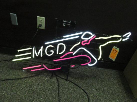 MGD NEON SIGN