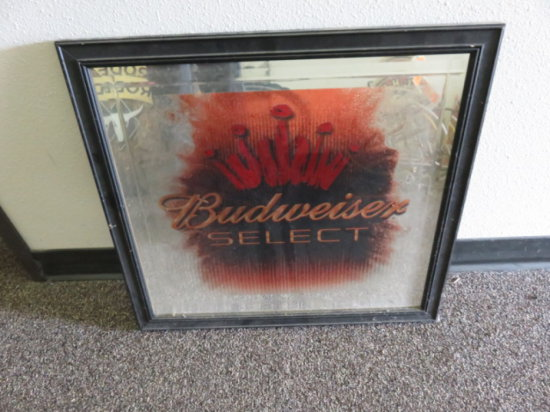 BUDWEISER SELECT SIGN