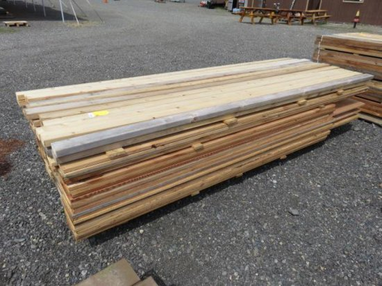 PALLET W/ASSORTED SIZED LUMBER