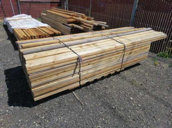 PALLET W/APPROX. (100) ASSORTED SIZED BOARDS