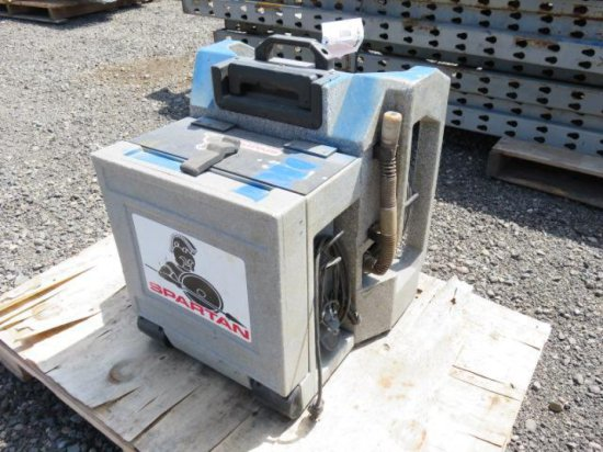 SPARTAN DRAIN/SEWER CAMERA W/MONITOR & VHS RECORDING SYSTEM