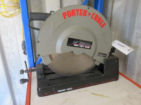 """PORTER CABLE 14"""" METAL DRY CUT SAW"""
