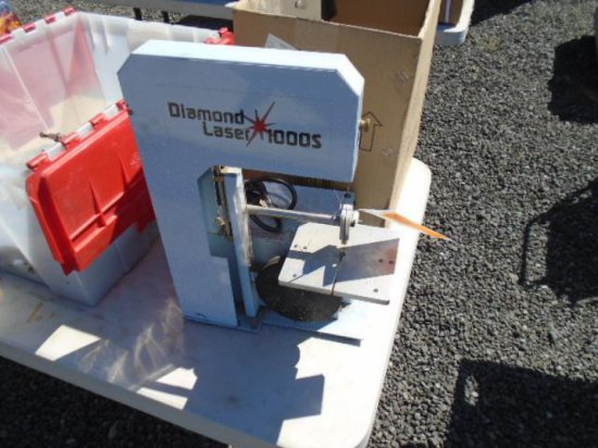 DIAMOND LASER 1000S BENCH TOP BAND SAW