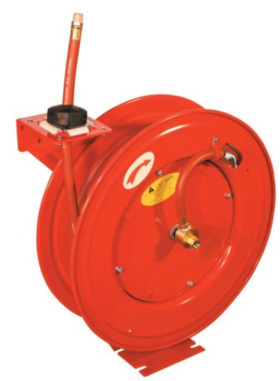 3/8'' X 50' AIR HOSE REEL