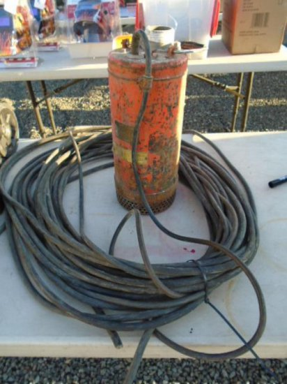 (UNKNOWN MAKE) 2'' SUBMERSIBLE PUMP