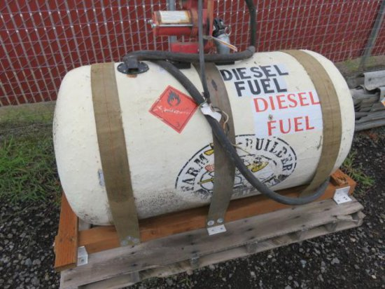 DIESEL TANK W/GASBOY 12V ELECTRIC PUMP
