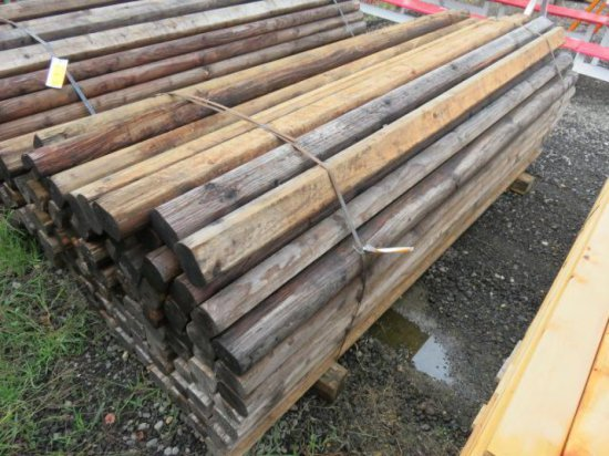 100 PLUS LANDSCAPE TIMBERS