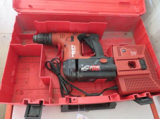 HILTI TE6A HAMMER DRILL, W/BATTERY & CHARGER