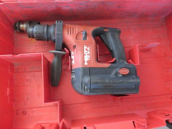 HILTI TE5A HAMMER DRILL, 24 VOLT, W/CHARGER