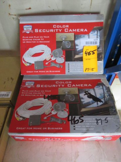 (2) BUNKER HILL COLOR SECURITY CAMERAS