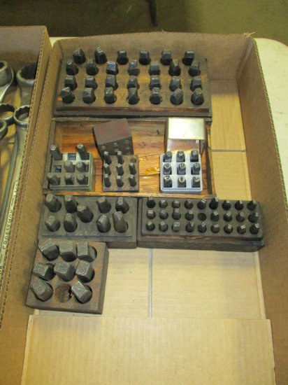 ASSORTED NUMBER AND LETTER PUNCHES
