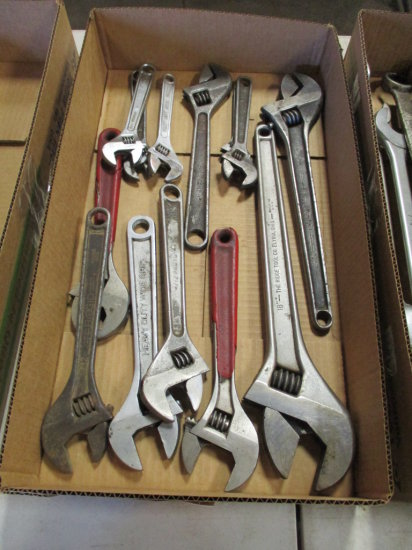 ASSORTED CRECENT WRENCHES